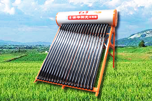 All-glass heat pipe solar water heater